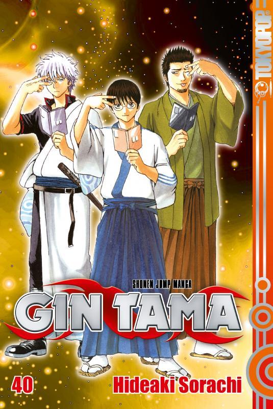 Cover-Bild Gin Tama 40