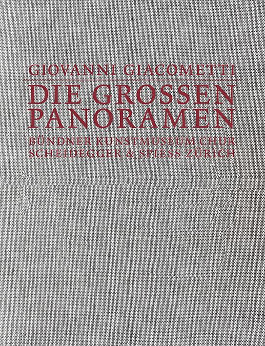 Cover-Bild Giovanni Giacometti