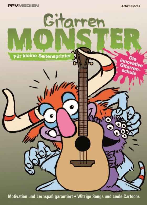 Cover-Bild Gitarrenmonster - Für kleine Saitensprinter