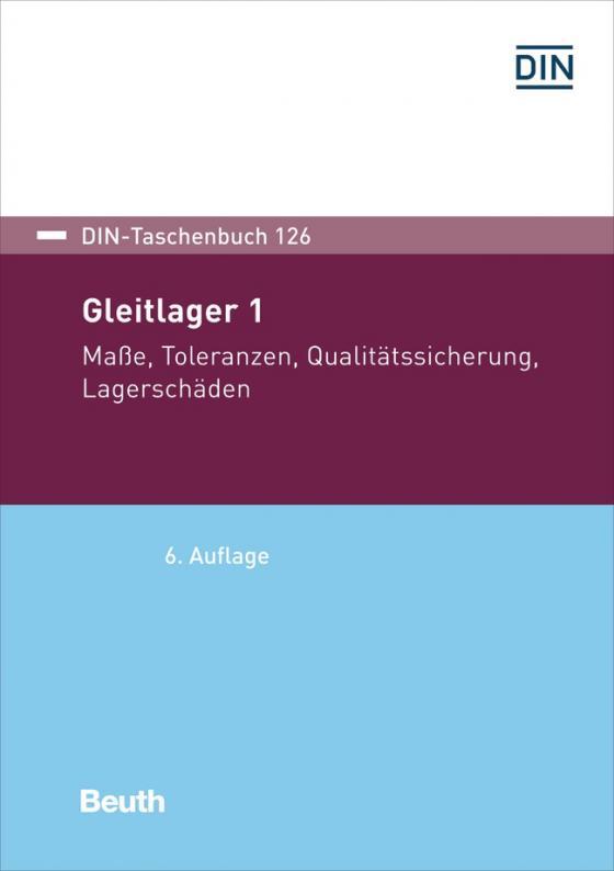 Cover-Bild Gleitlager 1