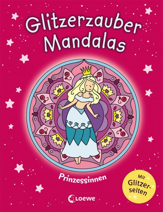 Cover-Bild Glitzerzauber-Mandalas - Prinzessinnen