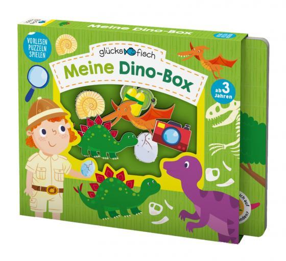 Cover-Bild Glücksfisch: Meine Dino-Box