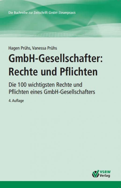 Cover-Bild GmbH-Gesellschafter: Rechte und Pflichten