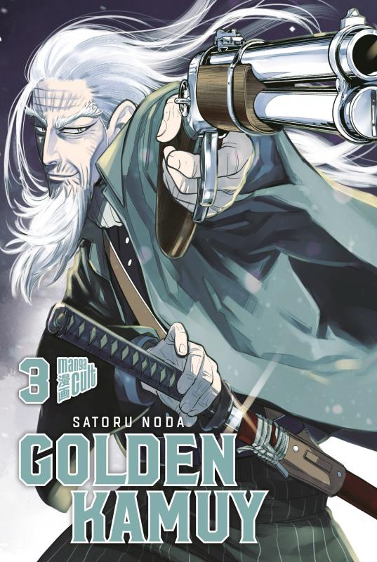 Cover-Bild Golden Kamuy 3