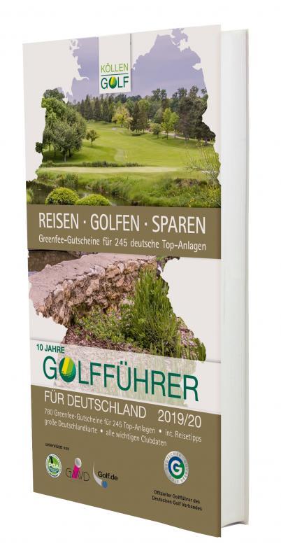 Cover-Bild Golfführer für Deutschland 2019/20