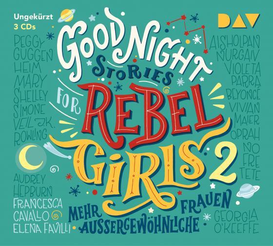 Cover-Bild Good Night Stories for Rebel Girls – Teil 2: Mehr außergewöhnliche Frauen