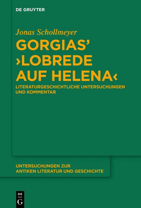 Cover-Bild Gorgias' ›Lobrede auf Helena‹