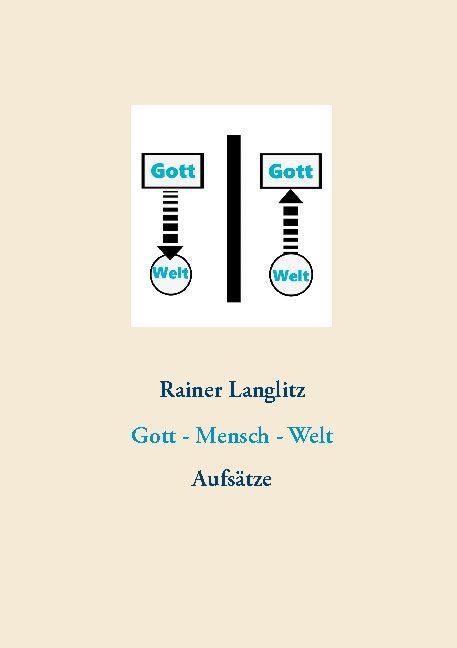 Cover-Bild Gott - Mensch - Welt