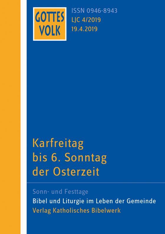 Cover-Bild Gottes Volk LJ C4/2019