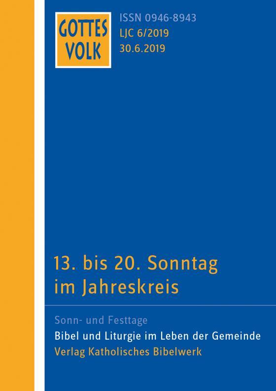 Cover-Bild Gottes Volk LJ C6/2019