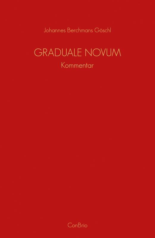 Cover-Bild Graduale Novum – Editio magis critica iuxta SC 117