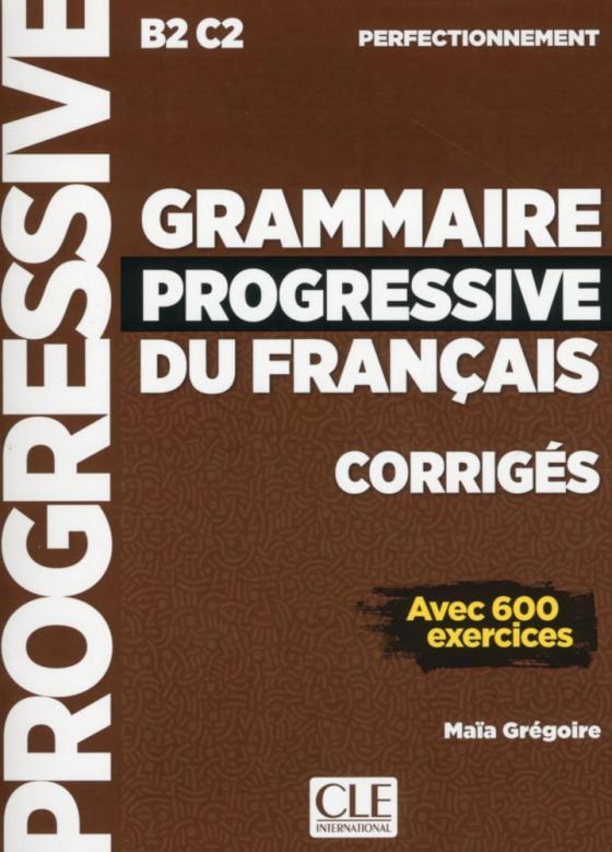 Cover-Bild Grammaire progressive du français