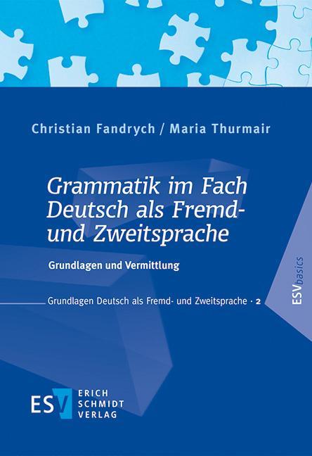 Cover-Bild Grammatik im Fach Deutsch als Fremd- und Zweitsprache