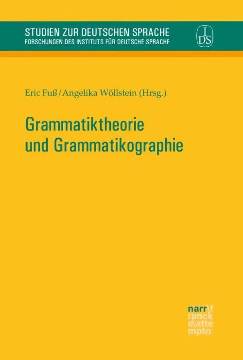 Cover-Bild Grammatiktheorie und Grammatikographie