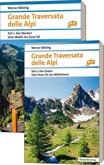 Cover-Bild Grande Traversata delle Alpi Nord und Süd
