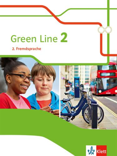 Cover-Bild Green Line 2. 2. Fremdsprache