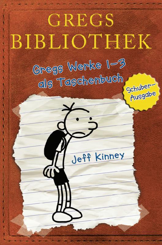 Cover-Bild Gregs Bibliothek - Gregs Werke 1 - 3 als Taschenbuch