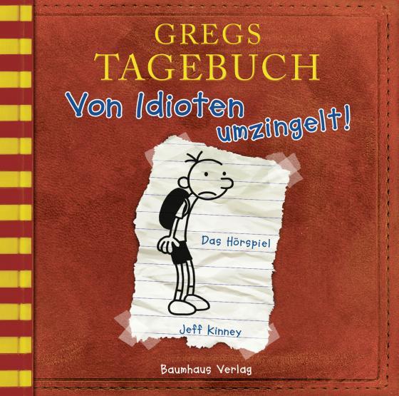 Cover-Bild Gregs Tagebuch - Von Idioten umzingelt!