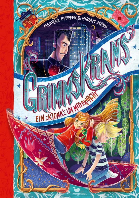 Cover-Bild Grimmskrams - Ein Klonk um Mitternacht