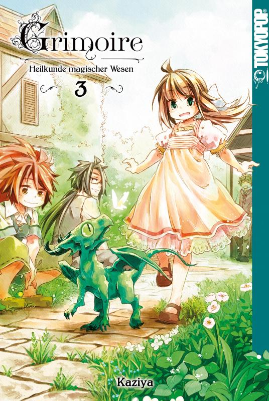 Cover-Bild Grimoire - Heilkunde magischer Wesen - Band 3