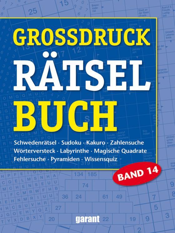 Cover-Bild Grossdruck Rätselbuch Band 14
