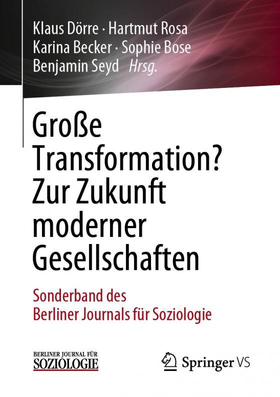 Cover-Bild Große Transformation? Zur Zukunft moderner Gesellschaften