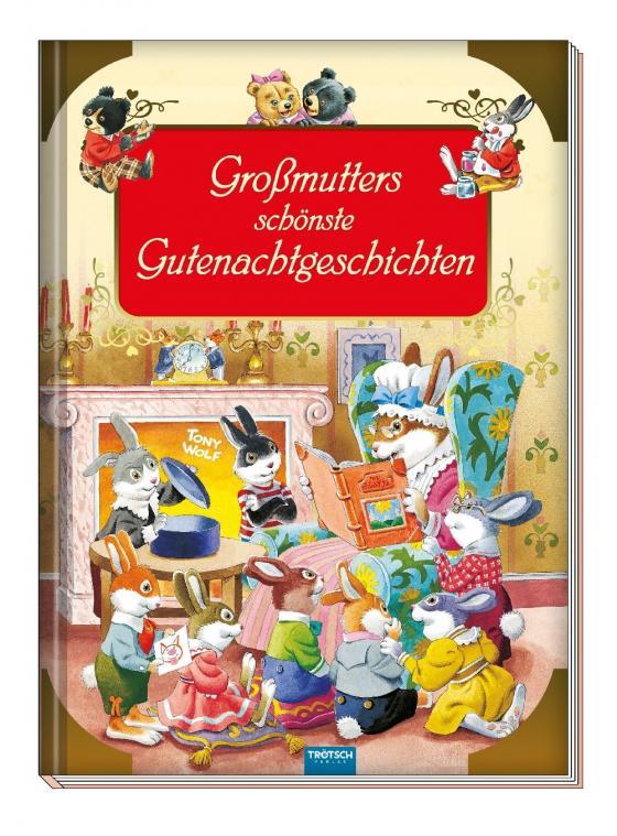 Cover-Bild Großmutters schönste Gutenachtgeschichten