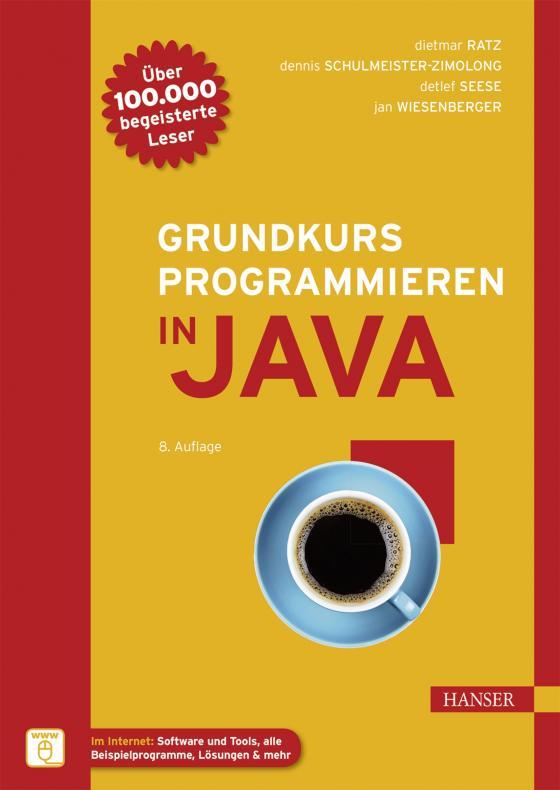 Cover-Bild Grundkurs Programmieren in Java