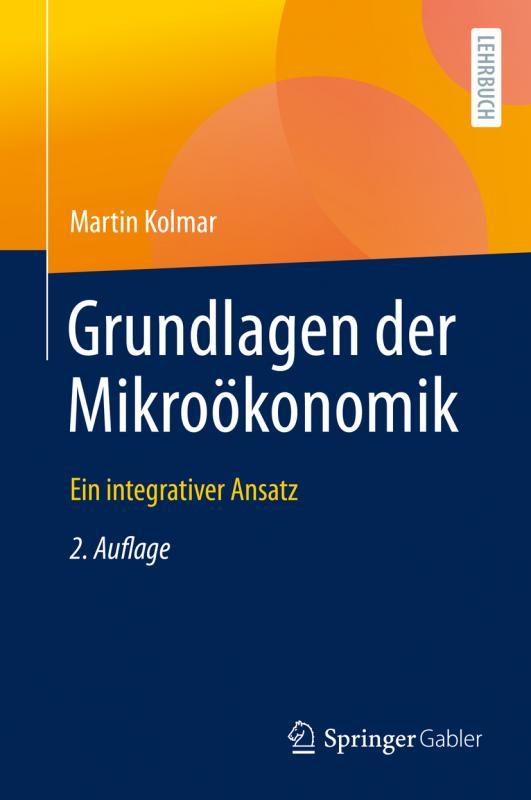 Cover-Bild Grundlagen der Mikroökonomik
