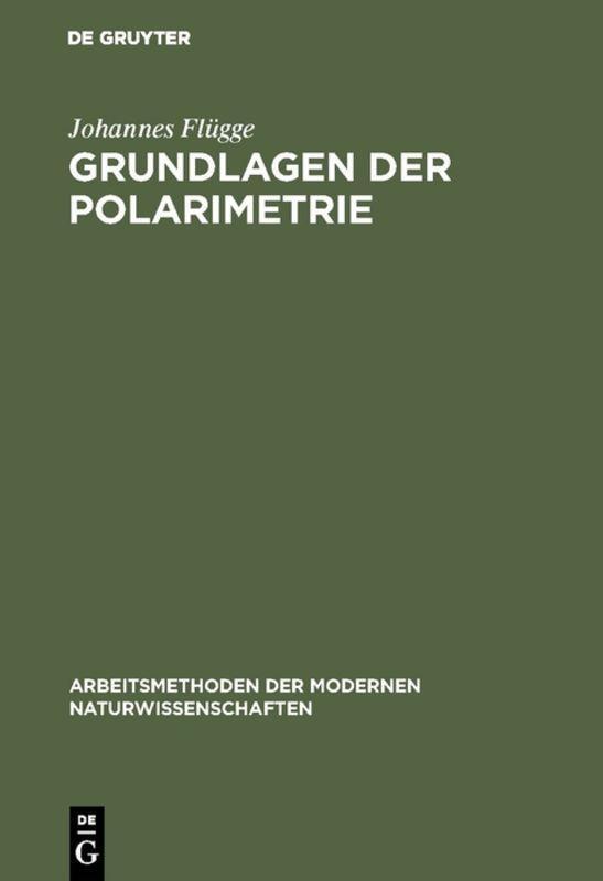 Cover-Bild Grundlagen der Polarimetrie