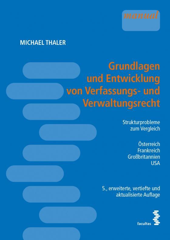 Cover-Bild Grundlagen und Entwicklung von Verfassungs- und Verwaltungsrecht