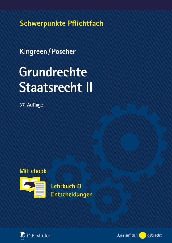Cover-Bild Grundrechte. Staatsrecht II