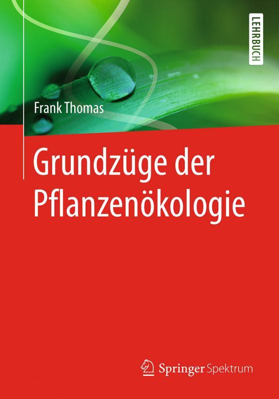 Cover-Bild Grundzüge der Pflanzenökologie