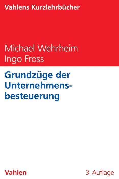 Cover-Bild Grundzüge der Unternehmensbesteuerung
