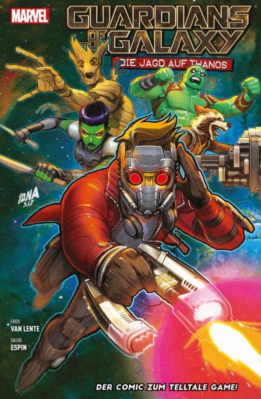 Cover-Bild Guardians of the Galaxy: Die Jagd auf Thanos