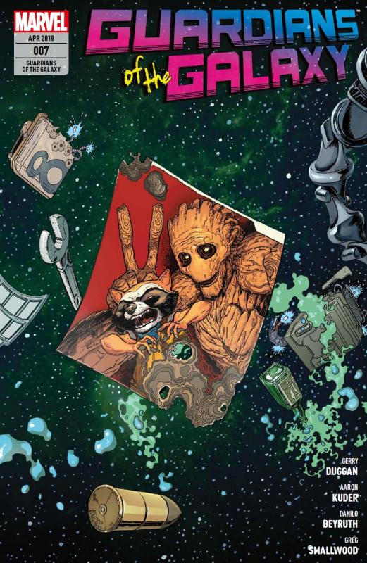 Cover-Bild Guardians of the Galaxy