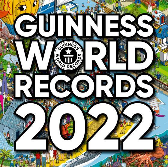 Cover-Bild Guinness World Records 2022