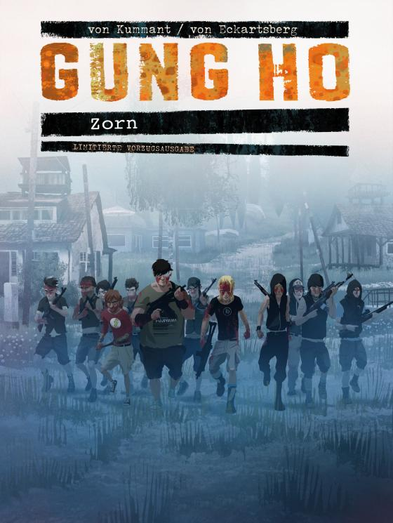 Cover-Bild Gung Ho Comicband 4 Vorzugsausgabe