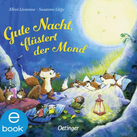 Cover-Bild Gute Nacht, flüstert der Mond