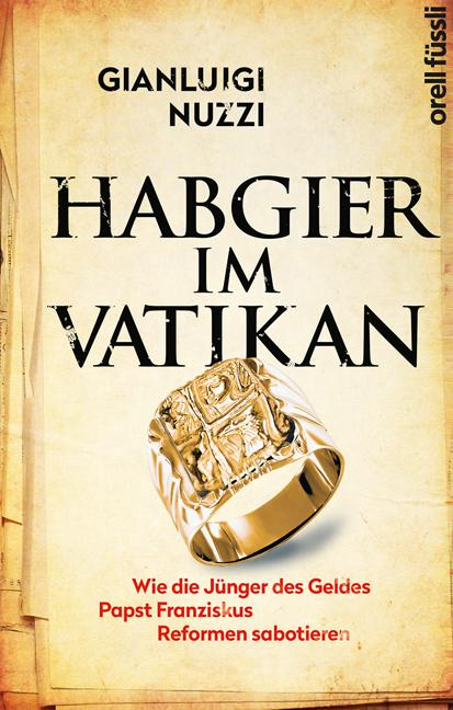 Cover-Bild Habgier im Vatikan