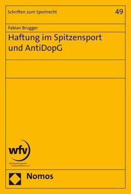 Cover-Bild Haftung im Spitzensport und AntiDopG