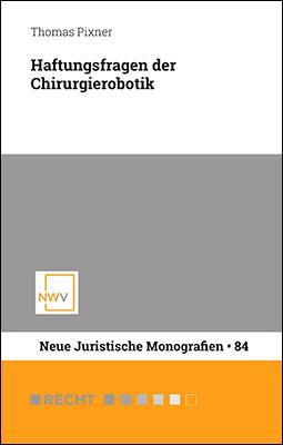 Cover-Bild Haftungsfragen der Chirurgierobotik