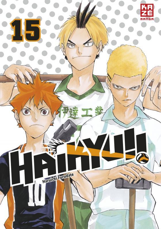 Cover-Bild Haikyu!! – Band 15