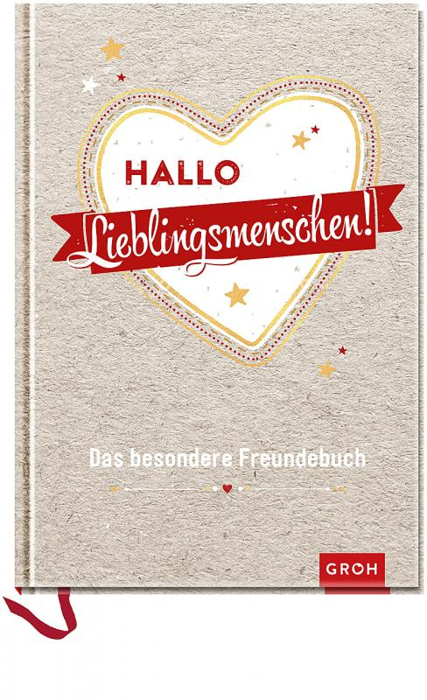 Cover-Bild Hallo Lieblingsmenschen!: Das besondere Freundebuch