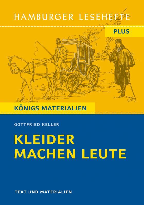 Cover-Bild Hamburger Lesehefte Plus - Gottfried Keller: Kleider machen Leute