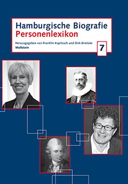 Cover-Bild Hamburgische Biografie 7