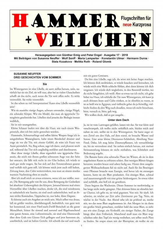 Cover-Bild Hammer + Veilchen Nr. 17