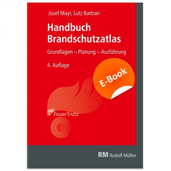 Cover-Bild Handbuch Brandschutzatlas - E-Book (PDF)