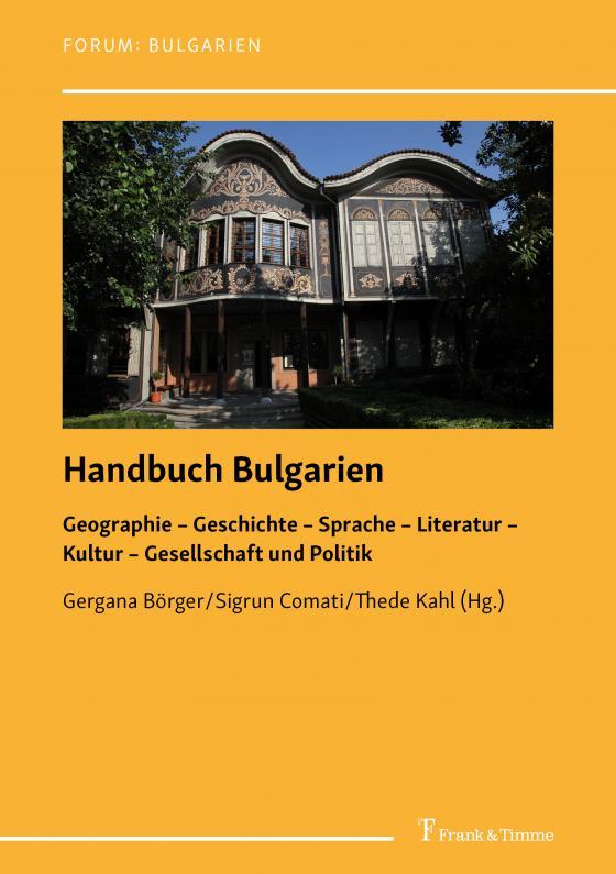Cover-Bild Handbuch Bulgarien