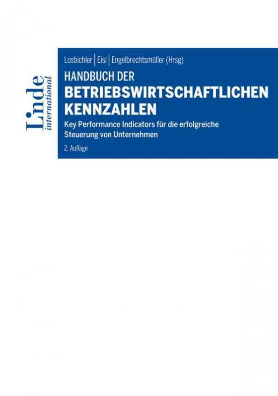 Cover-Bild Handbuch der betriebswirtschaftlichen Kennzahlen